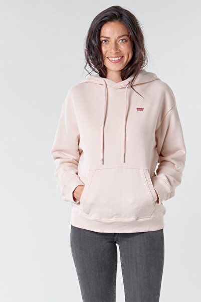 Levi's Kadın Standard Hoodie Sweatshirt 24693-0004