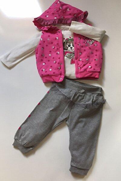 İmaj Kız Bebek Çocuk Sevimli Köpüş Alt-üst-yelek Takım