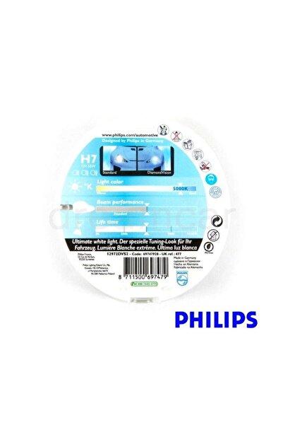 Philips H7 Diamond Vision Ultimate Parlak Beyaz Işık 5000K