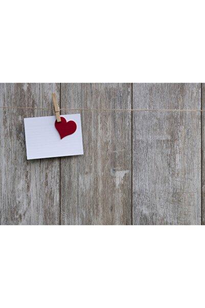 ELF Design Kalp Not Kağıdı Amerikan Servis 4 Lü