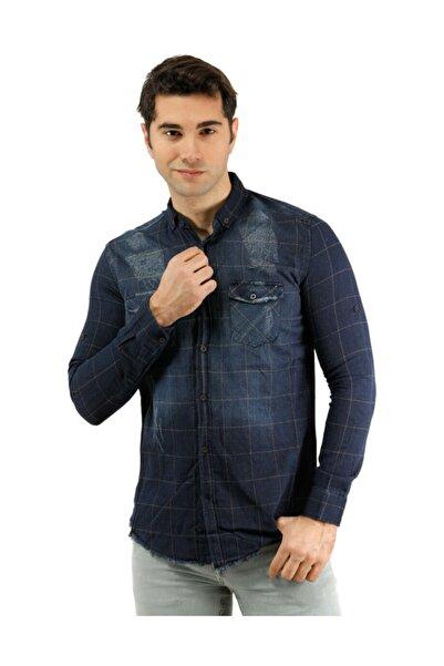 Phazz Brand Erkek Gömlek -PHAZZ BRAND  Kahverengi Erkek Gömlek - 6065