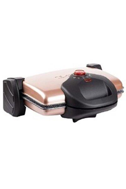 Tantitoni Granit Waffle Plakalı Rose Gold Izgara Ve Tost Makinesi