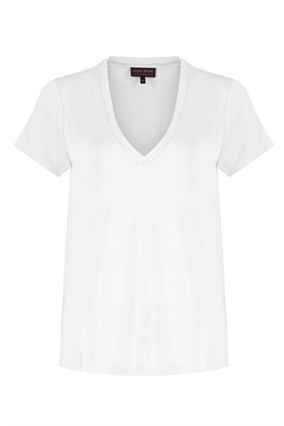 Siren Ertan ISTANBUL Kadın Beyaz T-shirt