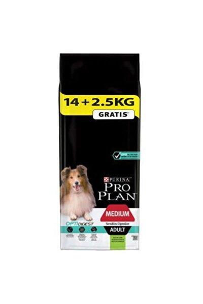Pro Plan Kuzu Etli Yetişkin Kuru Köpek Maması 14+2.5 Kg