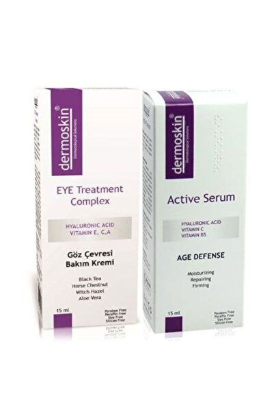 Dermoskin Eye Treatment Complex 15ml + Active Serum 15ml