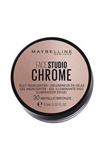 Face Studıo Chrome Jel Aydınlatıcı No: 30 Metallic Bronze Delist