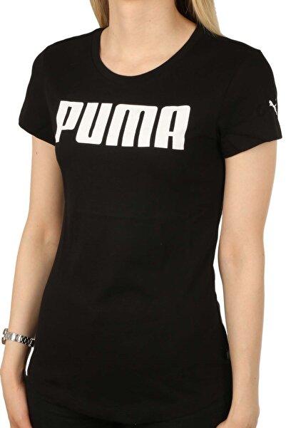 Puma Blank Base Tee Kadın Tişört 586023 04