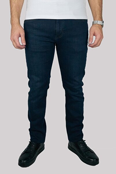 Brango 55182-0425 Erkek Lacivert Kot Pantolon
