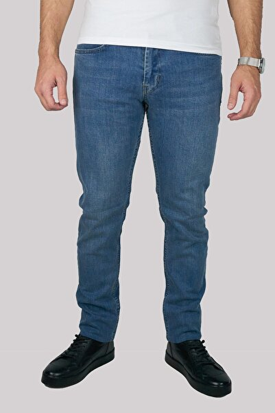 Brango Erkek Mavi Kot Pantolon 55190-0245