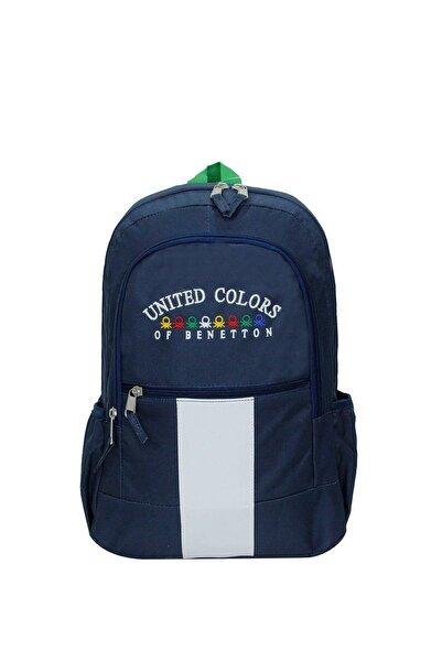 United Colors of Benetton Unisex Lacivert Matara Cepli Sırt Çantası 70051