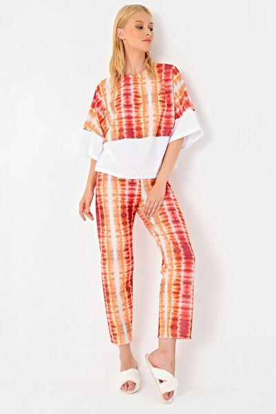 Trend Alaçatı Stili Kadın Mutlti Pijama Takımı MTX-1004