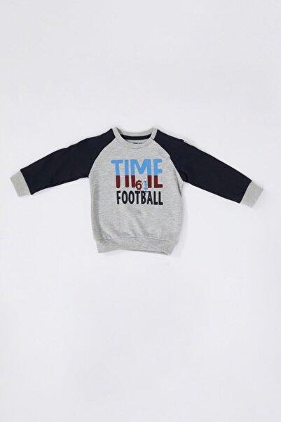TSCLUB Bebek Gri Time 61 Sweatshirt
