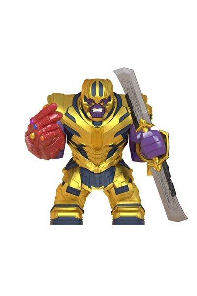 Legoedly Thanos Mini Figür Lego Uyumlu Infinity War + Sonsuzluk Eldiveni + Kılıç Set