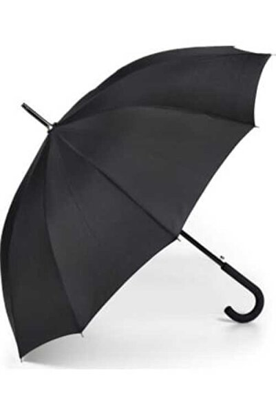 Accesory City Siyah Üstün Kalite 16 Telli Protokol Şemsiye
