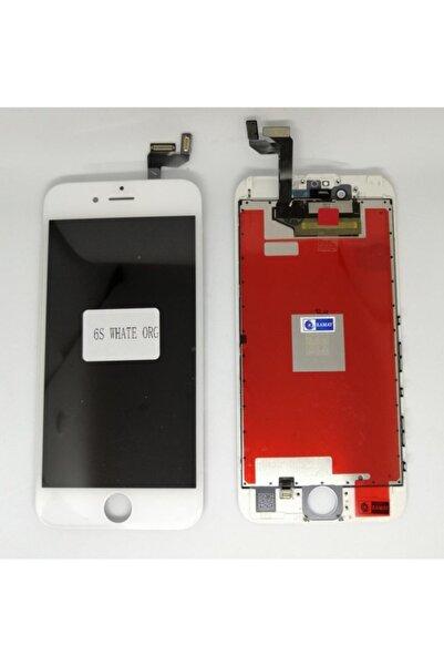 Akekio Iphone 6s Beyaz Lcd Ekran+dokunmatik Orjinal Revize