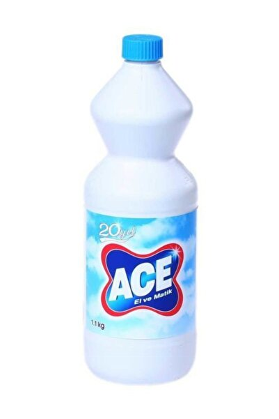 ACE Çamaşır Suyu 1 Lt - 18 Adet