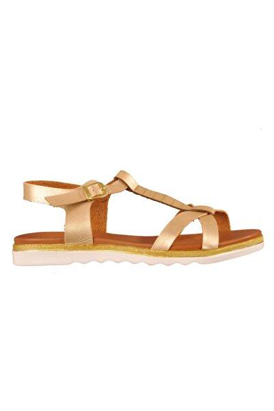 Polaris 91.311491.Z Altın Kadın Sandalet 100376660