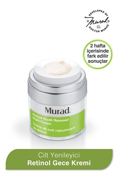 Murad Retinol Gece Nemlendiricisi - Retinol Youth Renewal Night Cream 50 Ml
