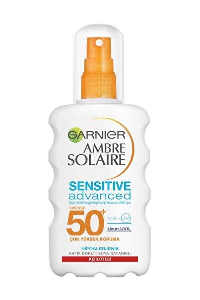 Hassas Ciltler İçin Güneş Koruma Spreyi - Ambre Soleire SPF 50+ 200 ml