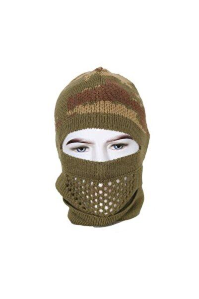 special Kamuflajlı Kar Maskesi Örme