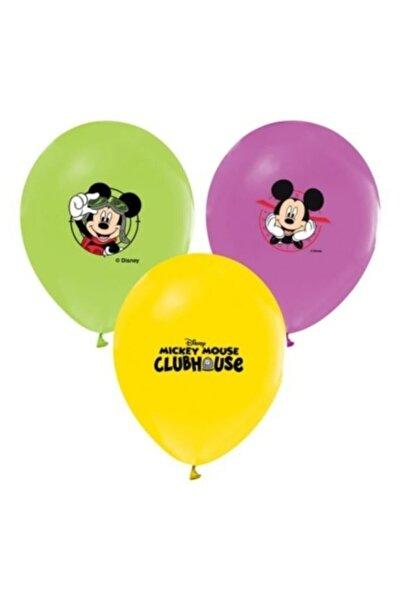 Mickey Mouse Balon Baskılı Lisanslı 12 Inc 4+1 Mıckey Mouse