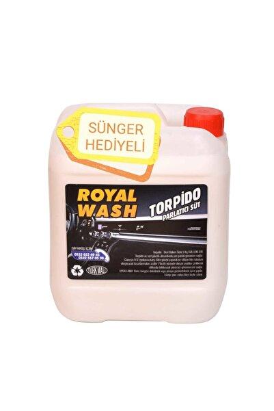 Royal Wash Torpido Parlatıcı Süt 5kg Konsantre