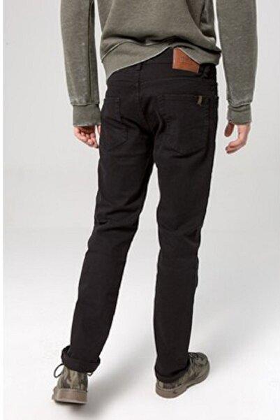Ltb Erkek Siyah Geniş Paça Likrasız Pantolon