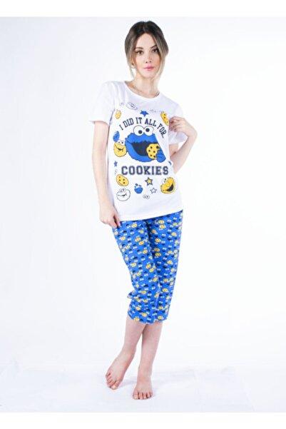 Vision Kadın Mavi Pijama Takımı