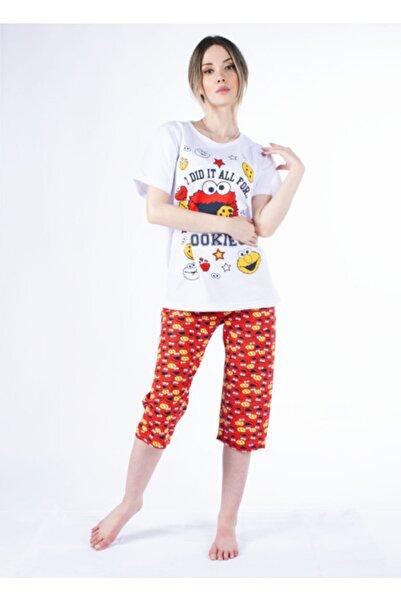 Vision Kadın Kırmızı Pijama Takımı