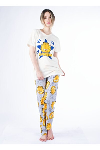 Vision Kadın Ekru Pijama Takımı