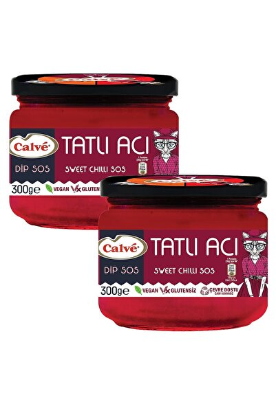 Calve Tatlı Acı Sweet Chili Sos 300 G X 2 Adet