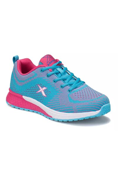 Kinetix Kadın Mavi Yüksek Taban Spor Ayakkabı