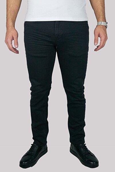 Brango Erkek Siyah Pamuklu Boru Paça Pantolon 55150