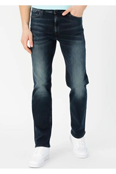 Jack & Jones Erkek Lacivert Roy Jean Pantolon 12176647