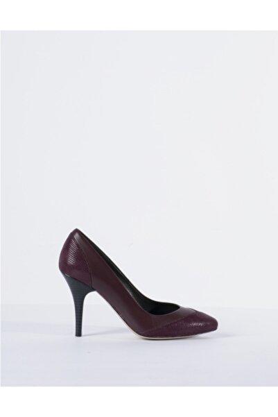 Vision Kadın Bordo Topuklu Ayakkabı