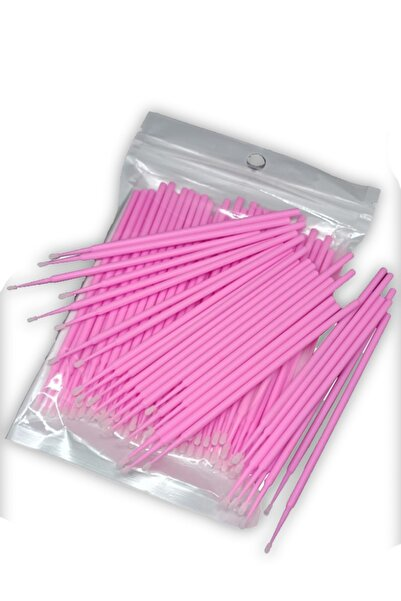 ARMONİKONYA Ipek Kirpik Microblading Kalıcı Makyaj Için Microbrush Fırçası 20 Adet