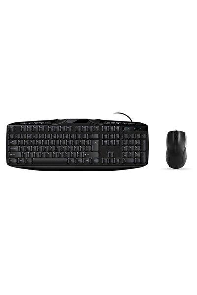 Everest Un796 Q Multimedia Klavye Mouse Set Siyah