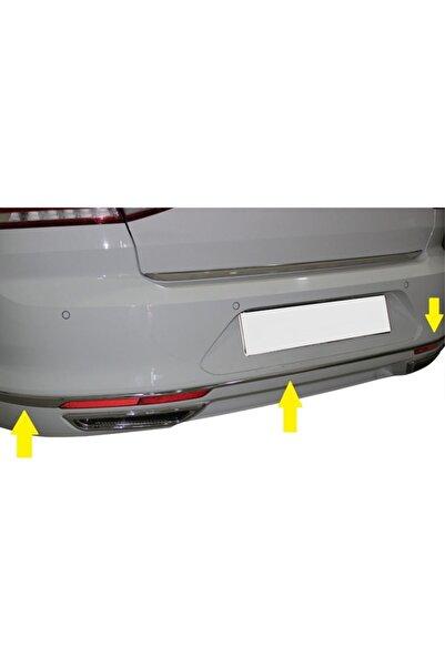 KOLAYLISPIDER Volkswagen Passat B8.5 Krom Arka Tampon Alt Çıtası 3prç 2019-2020