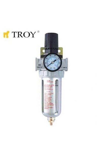 """TROY 18614 Şartlandırıcı (filtre + Regülatör) 1/4"""" Npt"""