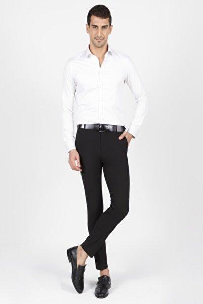 Mcr Erkek Siyah Casual Süper Slim Pantolon