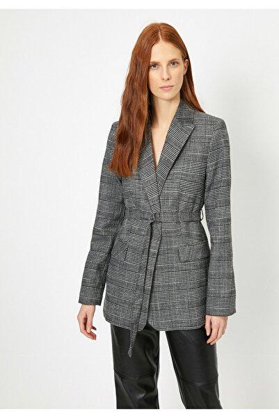Koton Kadın Gri Ceket 0KAK52128UW