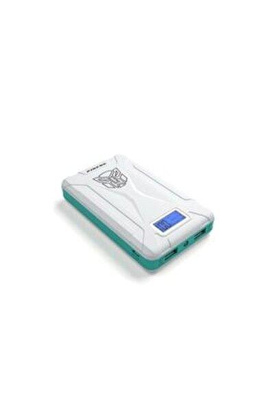 Pn-933 10000 Mah Powerbank Led Dijital Göstergeli Taşınabilir Şarj Cihazı - Beyaz