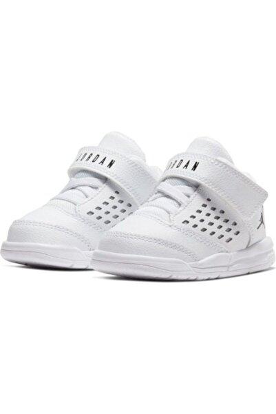 Nike Unisex Çocuk Beyaz Jordan Flıght Orıgın 4 Bt Spor Ayakkabı