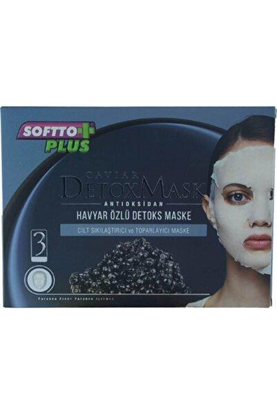 Softo Plus Cilt Sıkılaştırıcı Ve Toparlayıcı Kağıt Maske