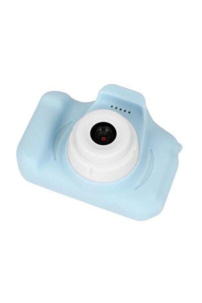 King Cmr9 Çocuklar Için Mini Hd 1080p Dijital Fotoğraf Makinesi Mavi
