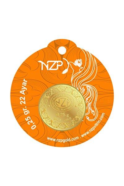 NZP Gold 0.25 gr 22 Ayar Yuvarlak Altın