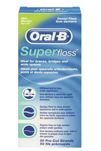 Oral-B Süper Floss Diş İpi 50 Adet