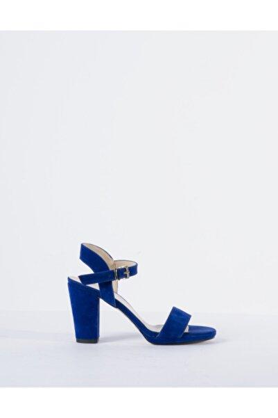 Vision Kadın LacivertTopuklu Ayakkabı