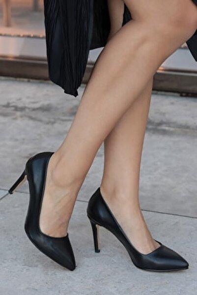 Basic Siyah Stiletto