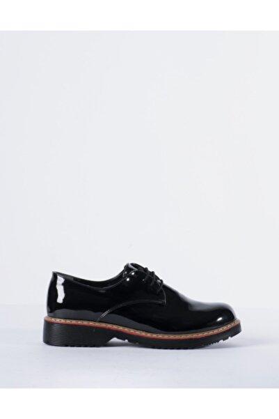 Vision Kadın Siyah Klasik Ayakkabı